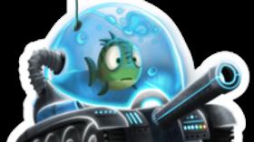 """""""The Tank"""" Sticker"""