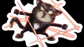 Spy Cat Sticker