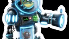 BattleFish Robot Sticker