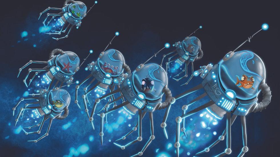 Swarm Bot Print