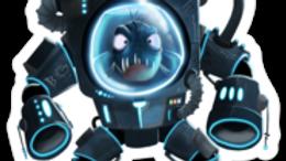 Fish Robot Sticker