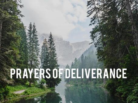 Prayers of Deliverance (audio prayers)