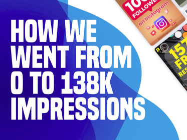 How We Managed To Go From 0 to 138k Impressions on Pinterest in Just 1 Month!
