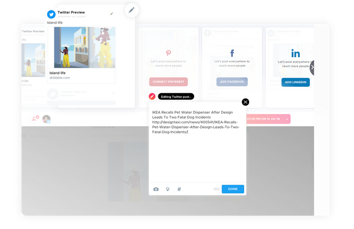 crowdfire publish everywhere feature social media management branding expert brandingexpert.net