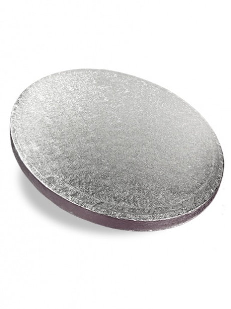 Round Cake Drum - Silver