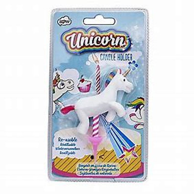 Unicorn Birthday Candled holder