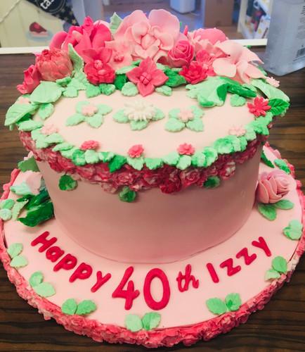 Floral Celebration Cake