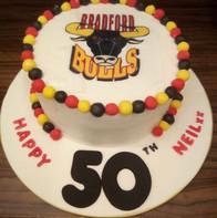 Bradford Bulls Cake