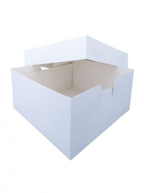 White Square Cake Box