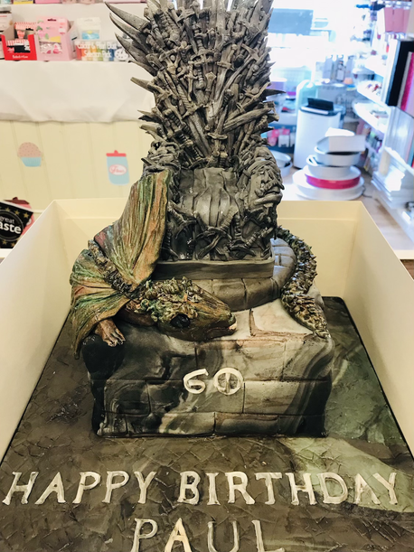 Game of Thrones themed cake