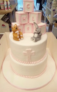 Christening Cake (2 tier)