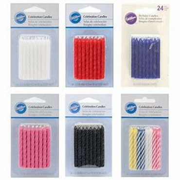 Wilton Birthday Candles 24 Pack