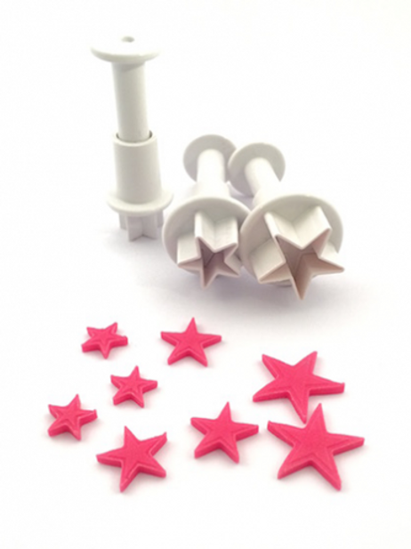 Star Plunger Cutters Set Of 3