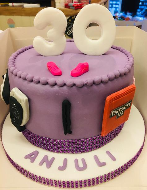 30th Celebration Cake