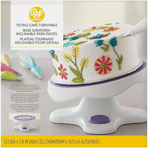 Wilton Tilt-N-Turn Ultra Cake Turntable - Cake Decorating Stand