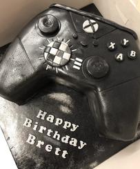 Xbox themed celebration cake