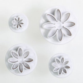 Daisy Plunger Cutters Set Of 4
