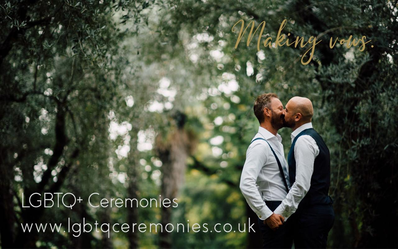 12 LGBTQ making vows 1