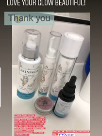 Client loves her new skincare routine