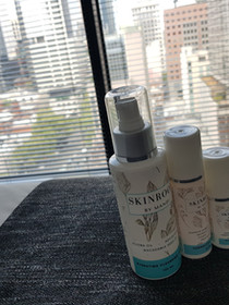 Clients never forget their favourite skincare on their trip