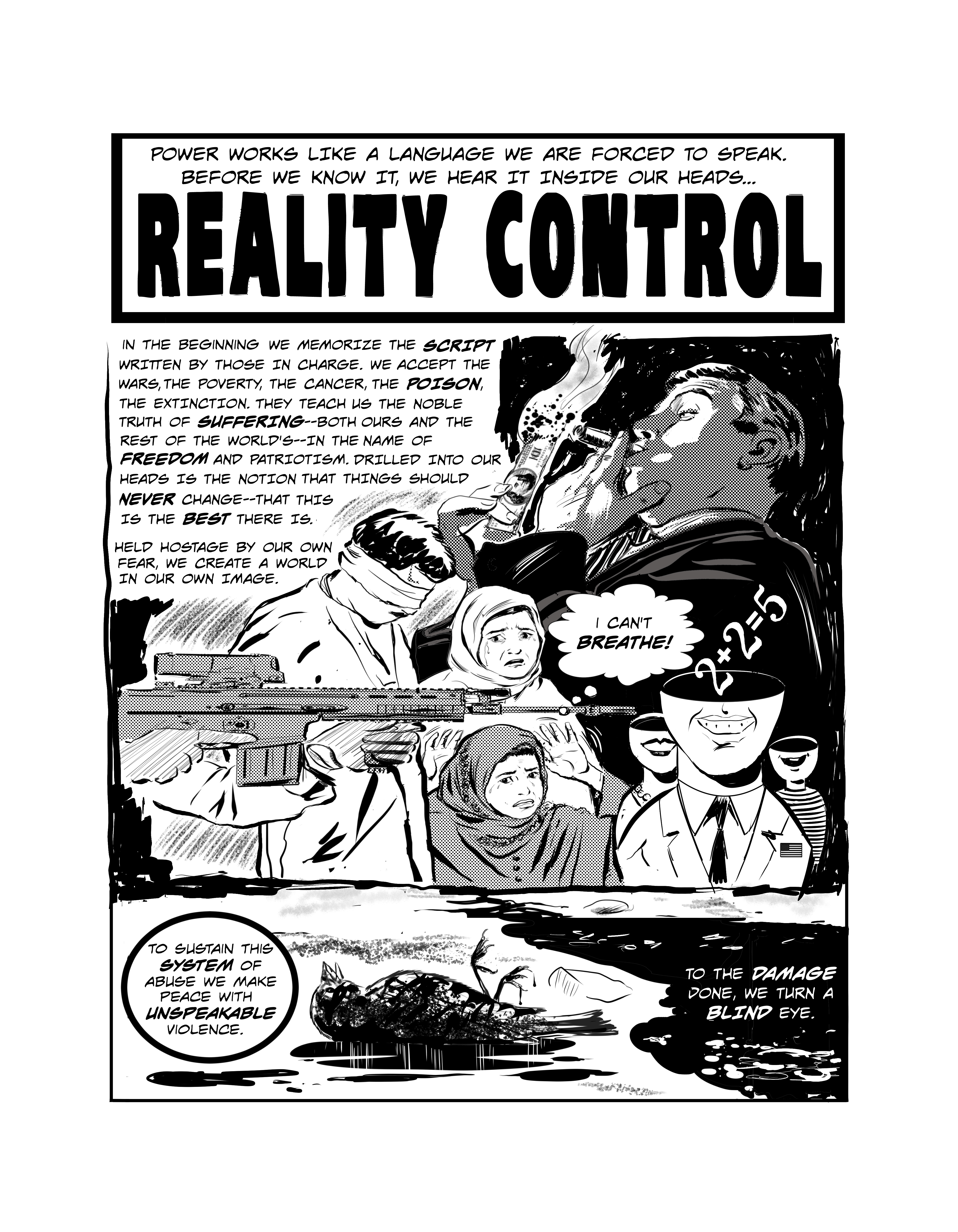 Reality Control, page 1