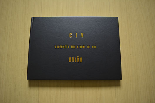 CIV AVIÃO - Caderneta Individual de Voo