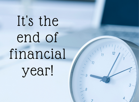 End of financial year tips for your business