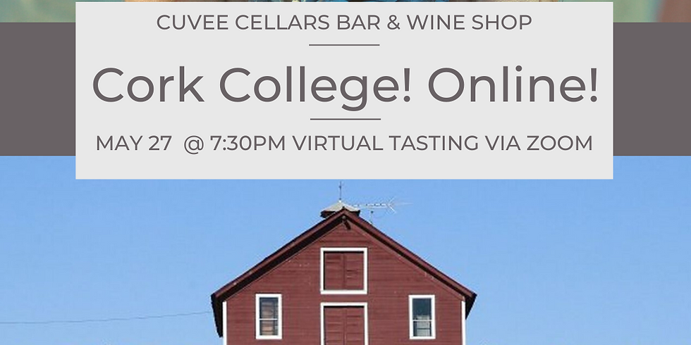 Cork College! Zooming Live with Kokomo in Dry Creek Valley, Sonoma