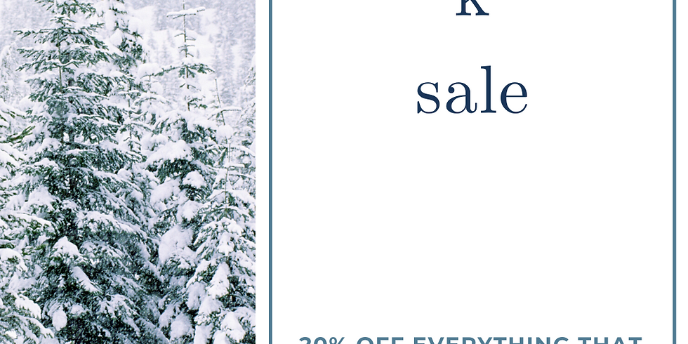 The Letter K Sale!