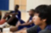 Koç için dinleme basketbolcular