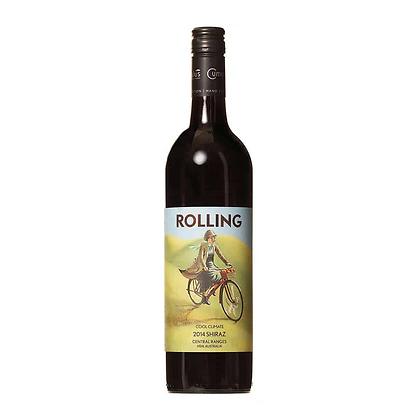 SIX bottles Rolling Shiraz
