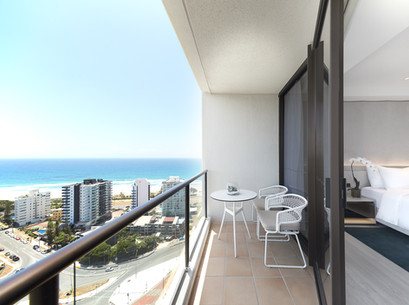 Ocean View Balcony JW MARRIOTT GOLD COAS