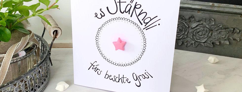 """""""Fürs beschte Grosi - Wunschstern"""""""