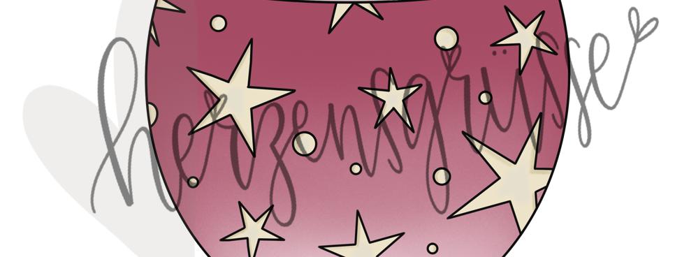 Räbeliechtli Sterne farbig