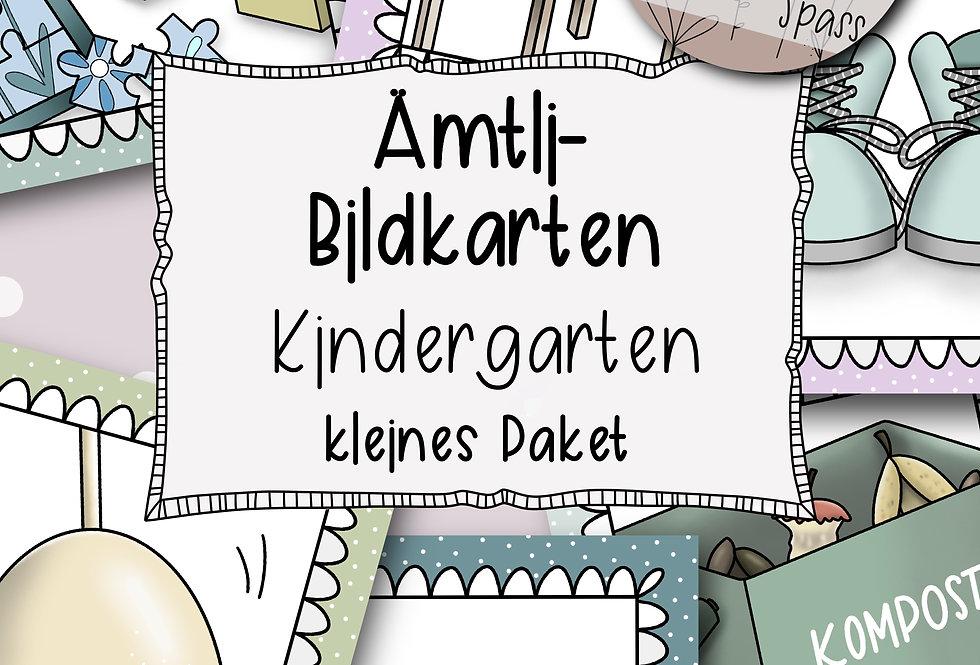 Ämtli-Bildkarten für den Kindergarten - kleines Paket