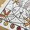 Thumbnail: Ausmalbild & Malen nach Zahlen - Hase