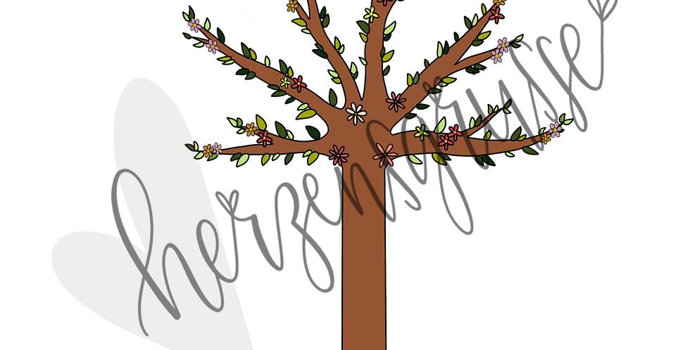 Jahreszeitenbaum Frühling