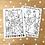Thumbnail: Ausmalbild & Malen nach Zahlen - Huhn