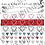 Thumbnail: Muttertags-Bordüren bunt und schwarzweiss