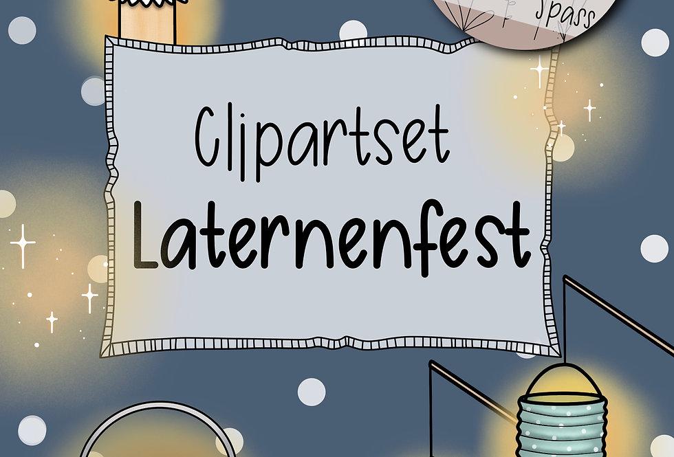 "Clipartset ""Laternenfest"""