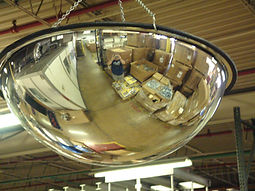 Full Dome Mirror - Safety and Security