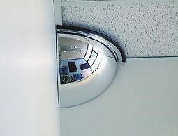 Quarter Dome Mirror - Safety and Security