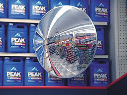 Convex Circular Mirror - Safety and Security