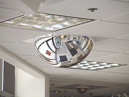 T-Bar Dome Mirror - Safety and Security