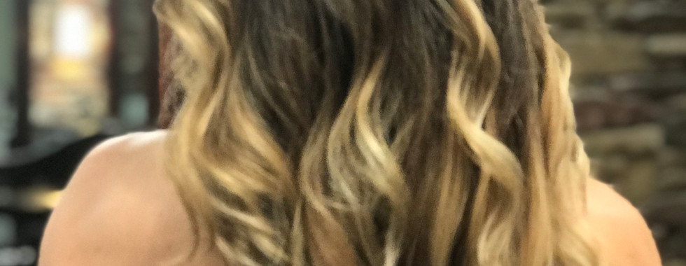 Dark to Blonde Ombre