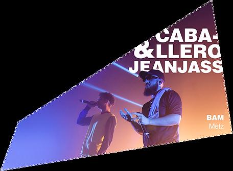 caballero & jeanjass double héclie vol 2 concert bam 5 ans metz
