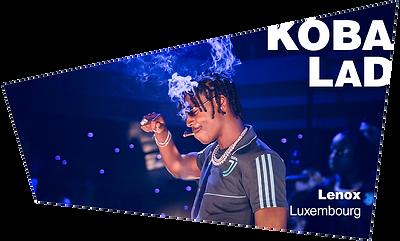 Koba LaD Showcase Lenox Luxembourg Concert Tenebreux