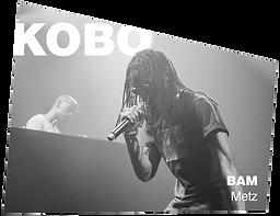 kobo 5 ans bam metz concert