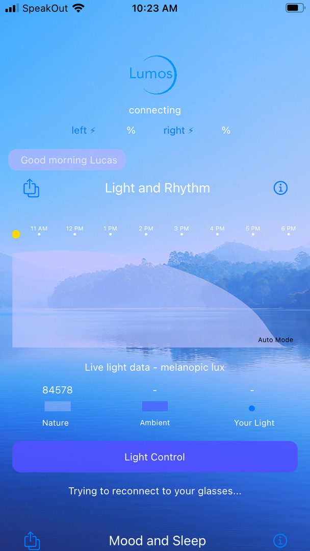 Lumos App Midday