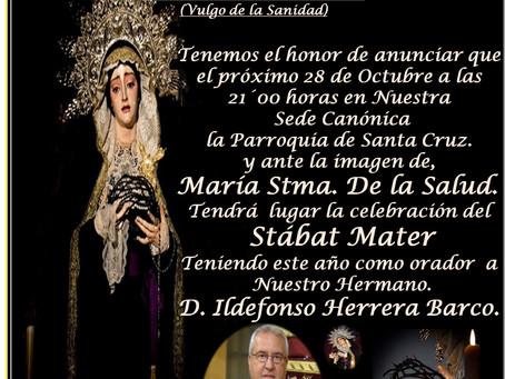 Stábat Mater Maria Stma. De La Salud.